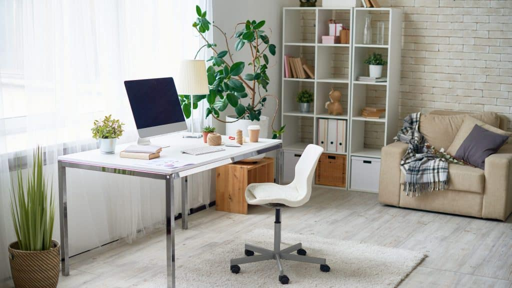 home upgrade with home office